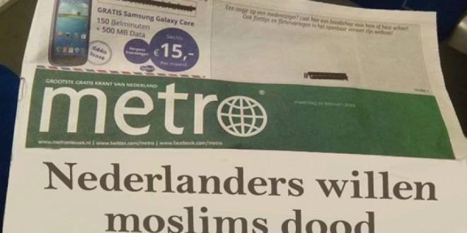 De leugen van krant metro